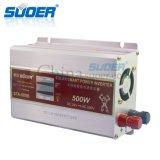 Suoer Gleichstrom 24V Sinus-Wellen-Energien-Inverter Wechselstrom-230V 500W zum intelligenten geänderten (STA-500B)