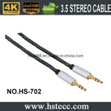 Vernikkelde 3.5mm AudioStop, Leverancier van China van de Hefboom van 3.5mm de Audio