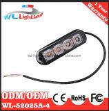 Luzes ambarinas da cabeça da luz de advertência do diodo emissor de luz