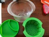 Ciotola/contenitore/casella casalinghi del creatore del formaggio fresco della materia plastica del commestibile