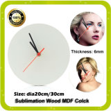 Sublimation MDF Clock for Heat Press