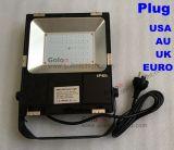 Прожектор 50W цены 110lm/W СИД света потока поставщика Китая хороший с штепсельной вилкой мы EU Великобритании Au США