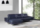 Sofà di cuoio sezionale moderno per la mobilia/strati del sofà del salone