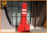 Длина 2200mm расширяемый пластичного барьера строба безопасности движения максимальная