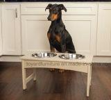 Alimentador de tabela Recyclable forte do animal de estimação da mobília ao ar livre quente nova do jardim para animais altos do gato do cão de animal de estimação
