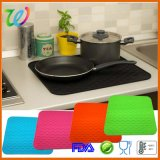 Fabrik-Großverkauf 22 Zoll-Silikon-Küche-Teller-trocknende Matte