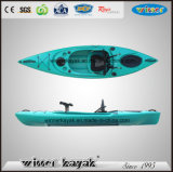 Kayak Kayak único no embarcación inflable de pesca de LLDPE Kayak