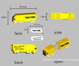 Entraînement de crayon lecteur de carte mémoire Memory Stick de clé de mémoire USB de PVC de Customed