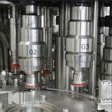 ミネラル飲料水のびん詰めにする生産ラインを完了しなさい
