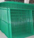 최신 판매 백색 PVC에 의하여 입히는 용접된 철망사 담