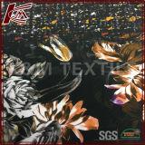 Cdc 꽃에 의하여 인쇄되는 순수한 Textile 실크 140cm Crepe 실크 직물