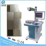 máquina barata da marcação do laser da fibra do baixo custo 20W30W para o carregador móvel plástico do ABS