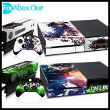Etiqueta da pele do vinil da tampa protetora para o console do jogo do xBox um de Microsoft