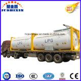 Gas-Tanker der gute Qualitäts18500/24000/25000liters T75/T50 20FT 40FT LPG/LNG/Natural/Becken-Behälter