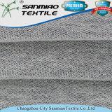 Tissu français de denim de coton tricoté par Terry d'indigo en gros de prix bas