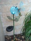 Reeks van de Tuin Decoratioin van de Vlinder van 2 Metaal
