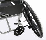 Fauteuil roulant léger/transport de l'alliage Tr18 d'aluminium