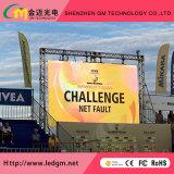 P10 Aluguer exterior Tela LED 640 X 640 milímetros P10 HD Aluguer ao ar livre Display LED