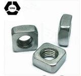 Noix carrées de l'acier DIN562 allié sans noix coniques/appuyées