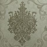 Damasco floral del papel pintado del PVC del estilo de Intalian