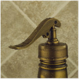 Taraud en laiton solide antique de salle de bains