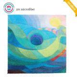 Paño de limpieza simple colorido de la lente de Microfiber de encargo