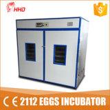 Ce van Hhd merkte Commercieel Goedgekeurd Ce van de Incubator van het Ei van het Gevogelte van de Kip