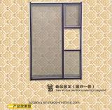 [أنتي-ثفت] نافذة شاشة ألومنيوم إطار يليّن [سليد ويندوو] زجاجيّة