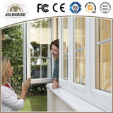 Kundenspezifisches UPVC Flügelfenster Windows der gute Qualitätsfabrik