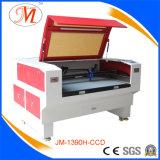 Máquina vermelha do laser Cutting&Engraving com posicionamento da câmera (JM-1390H-CCD)