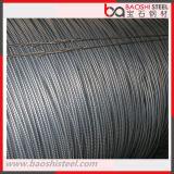 Q195/Q235 fio de aço deformado laminado a alta temperatura Rod