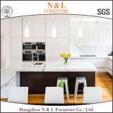 Gabinete de cozinha lustroso elevado da laca da pintura do padeiro de N&L