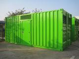 Biogaz silencieux Genset/usine de biogaz type de conteneur/centrale de biogaz