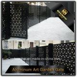 Cancello di alluminio decorativo della strada privata tagliato laser