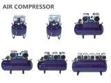 compressor de ar dental livre do petróleo 90L para o uso dental da unidade seis