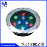 Luz de pavimentação subterrânea do diodo emissor de luz do quadrado claro subterrâneo do fornecedor IP68 de China