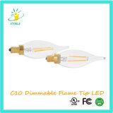 C10 LED 필라멘트 가로등 크리스마스 훈장 옥외 빛