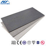 Placa de revestimento de cimento de fibra de parede exterior