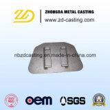 Parti ferroviarie personalizzate OEM del pezzo fuso d'acciaio