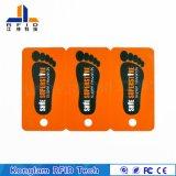 주문을 받아서 만들어진 열 박판 PVC RFID 회원증
