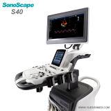 Medizinischer Farben-Doppler-Ultraschall Sonoscape S40 des Mobile-4D bester Preis