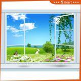 المشهد خضراء خارج النافذة [أوف] يطبع صورة زيتيّة لأنّ زخرفة بينيّة