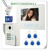"""7 het het """" Draadloze VideoVerslag van het Beeld van de Kaart van de Deurbel 4G BR van de Telefoon van de Deur & Toetsenbord van de Code"""