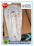 Molino que trabaja a máquina con la aleación de aluminio 6061