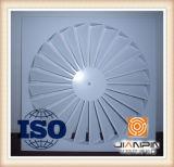 Aluminiumdecken-Luft-Diffuser- (Zerstäuber)strudel-Gitter