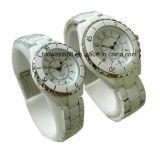 Banda de cuero barato del reloj análogo del amante de pulsera Promoción