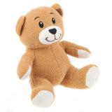 O luxuoso de Tan carrega o fornecedor macio enchido animal do urso dos brinquedos