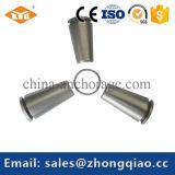 Attache et cales tendues par poste convenable de compactage pour le câble matériel en acier