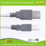 Фабрика Shenzhen продавая черный USB Am PVC к кабелю Bm