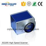 De Scanner van de Galvanometer van de Laser van de hoge snelheid Js2205 voor Vezel die Machine merken